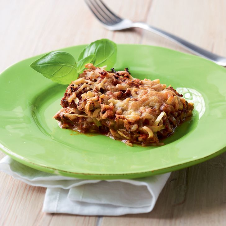 Lasagne med spidskål