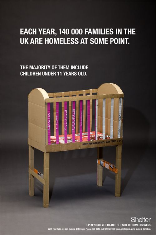 Shelter Poster Campaign