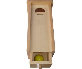 KLÁRKA Krabička se zásuvkou a kuličkou