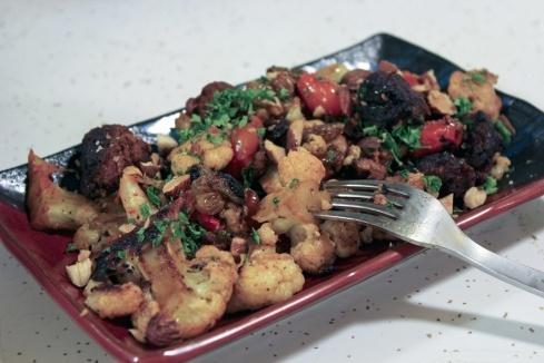 coliflor a la plancha with chorizo | Chorizo, Cauliflowers and Paleo