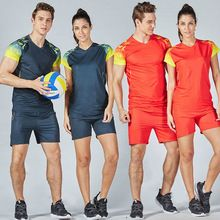 Free Shipping 2017 New Sports suit Men and Women s volleyball jerseys sportswear shirt Volleyball uniforms