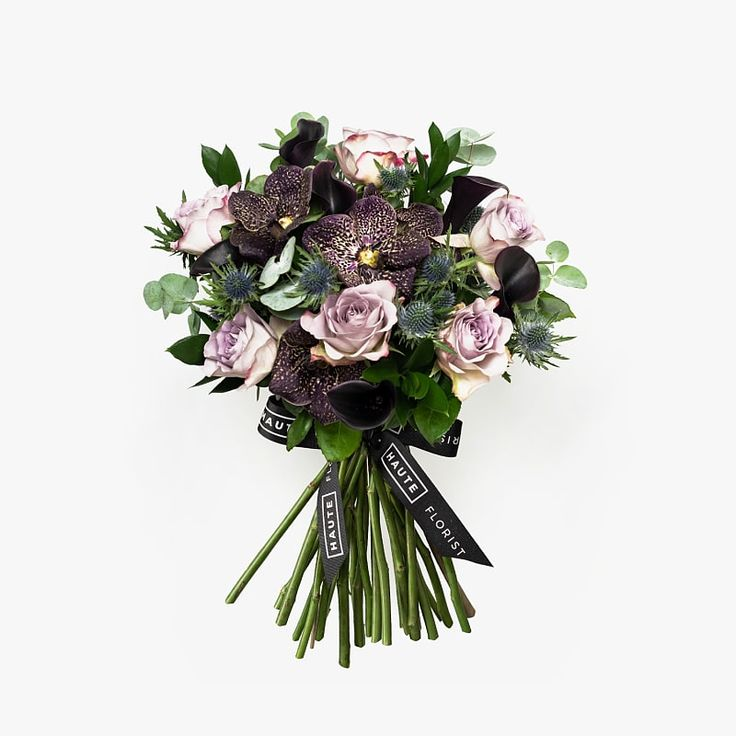 Belle in black haute florist unique flower