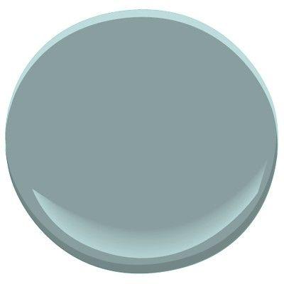 laundry room paint color -Benjamin Moore Sea Star