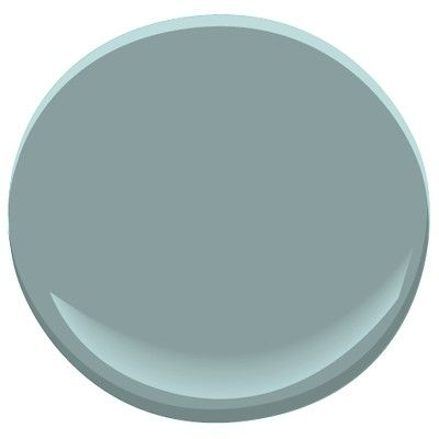 laundry room paint color -Benjamin Moore Sea Star