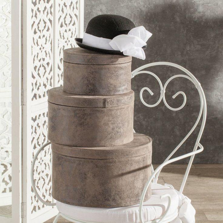 Von wegen #altmodisch - diese Hutschachteln haben es in sich und eignen sich zum kreativen #DIY.
