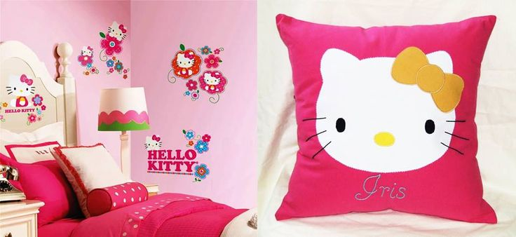 handmade pillow Hello Kitty