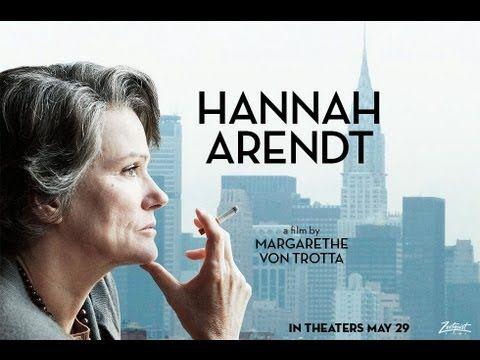 Drama - HANNAH ARENDT - TRAILER | Barbara Sukowa, Axel Milberg, Janet McTeer