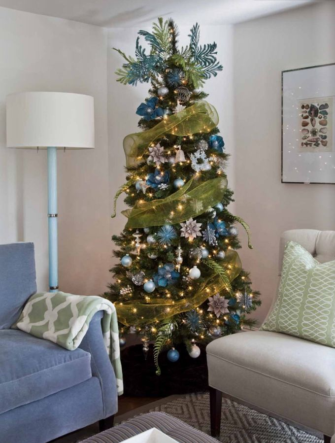 187 best christmas trees decorated images on pinterest for Beautiful decorated christmas trees