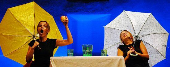 Teatro infantil. Extensión de los encuentros TeVEo (Zamora). Shakespeare Women Company (Portugal). La tempestad (en un vaso de agua). Mayo 2011