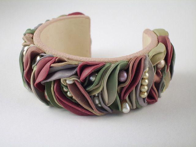 Untitled Bracelet by Kim Cavender, via Flickr