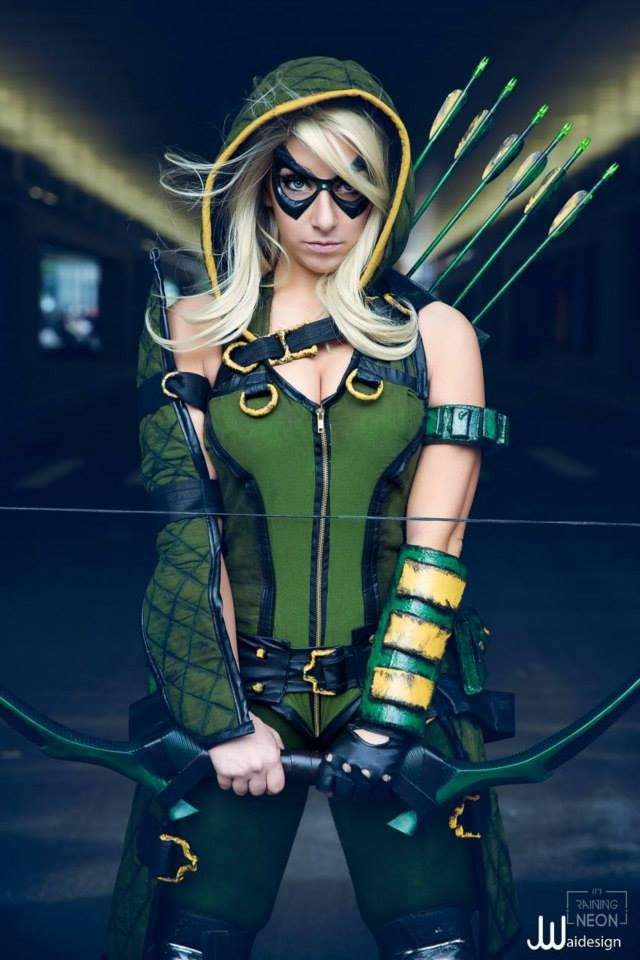 Cool Green Arrow cosplay