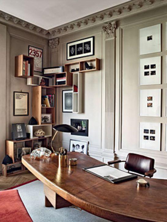 Stefano Pilati's Office