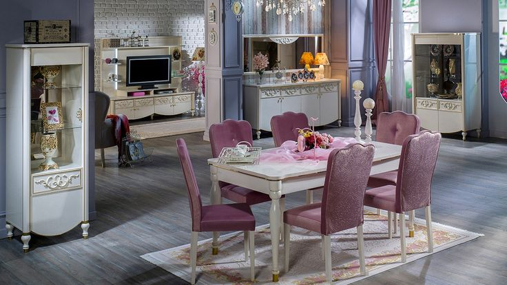 Rustik Yemek Odasi Takımı - İstikbal