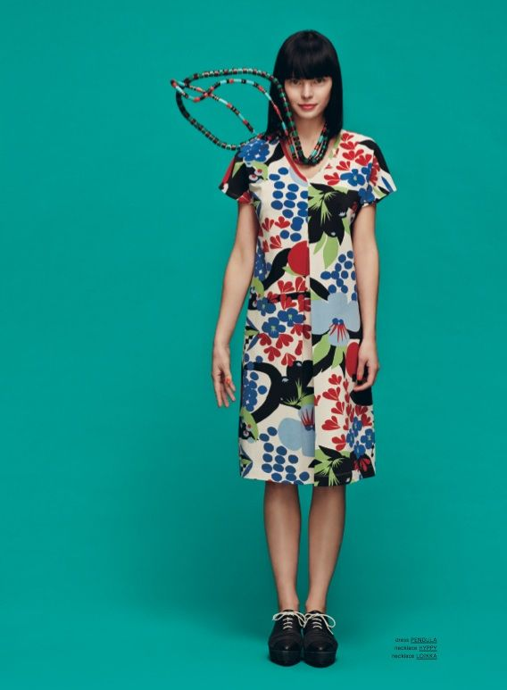 Marimekko Fall 2013: Pendula dress