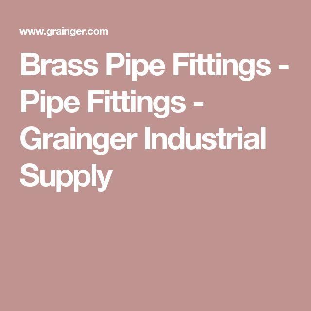 Brass Pipe Fittings - Pipe Fittings -  Grainger Industrial Supply
