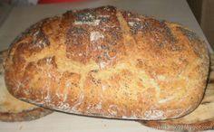 Moje pyszne, łatwe i sprawdzone przepisy :-) : Chleb z garnka pszenno-razowy z ziarnami-najlepszy...