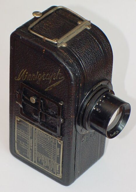 Minnigraph - List of Early 35mm Cameras, from 1914 to 1932 pag.1