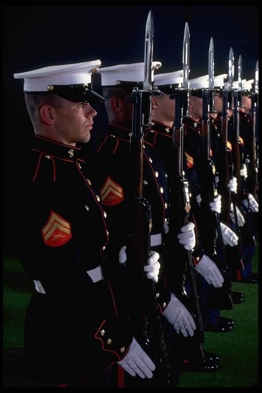 While all dress uniforms are nice, absolutely NOTHING compares to Dress Blues. Nothing. Ever. In the entire world.