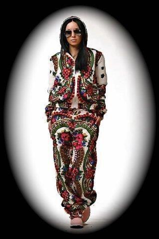 Спортивный костюм бабушкин платок