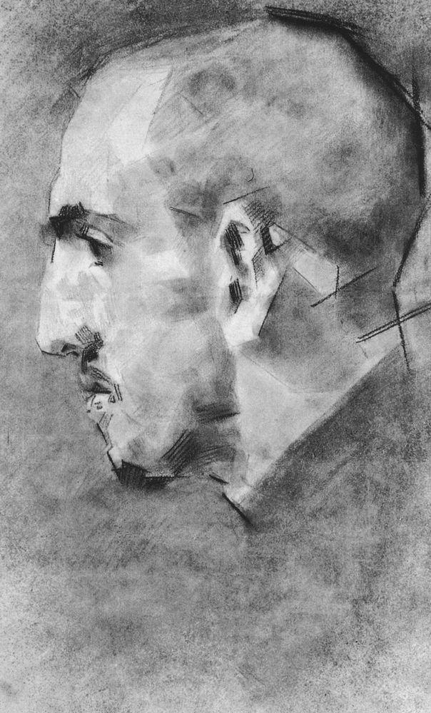 mamontov.jpg (604×1000)Врубель. Портрет В. С. Мамонтова.1890-1891 г.г..Бумага,сангина,прессованный уголь,растушка. 42,6 х 25,8 см.ГТГ