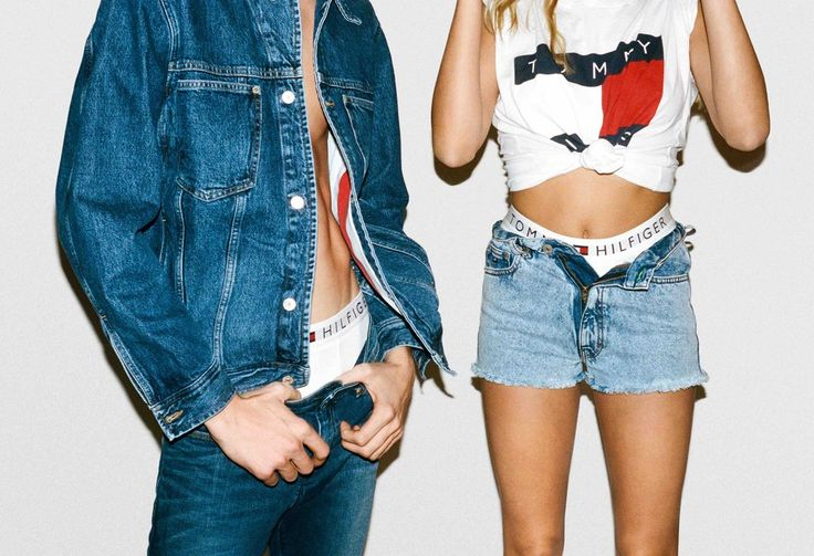 Hailey Baldwin Is the Face of Tommy Hilfiger Denim —in the Sexiest Mom Jeans Yet