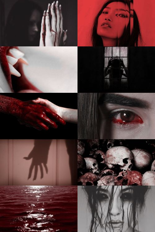 """aswang aesthetic: """"a shapeshifting monster usually possessing a combination of the traits of either a vampire, a ghoul, a warlock/witch, or different species of were-beast in Filipino folklore or even all of them together. it is the subject of a wide variety of myths and stories. spanish colonists noted that the Aswang was the most feared among the mythical creatures of the philippines, even in the 16th century."""""""