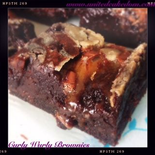 Curly Wurly Brownies!!!