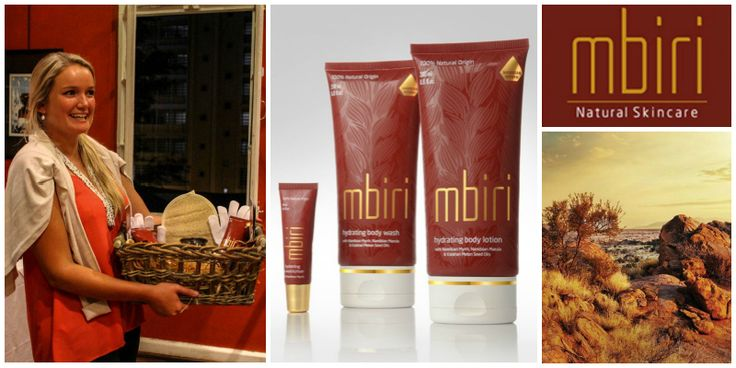 Tammy Nott, founder of Mbiri Natural Skincare (Namibia)