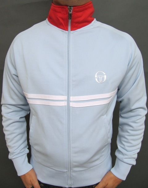Details About Sergio Tacchini Dallas Tracksuit Top In