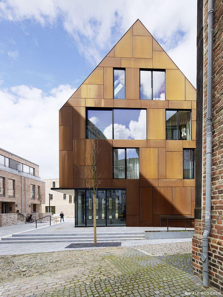 Kiel Steel House 02 A New House Development Located in on the German Baltic Coast