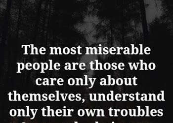 The most miserable people.. Miserable people quotes