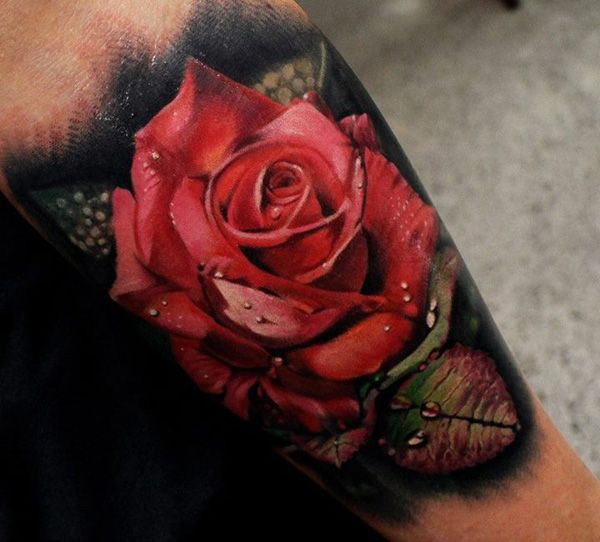 May be able to cover the tat on my ankle with something like this. 55+ Beautiful Flower Tattoo Designs | Cuded