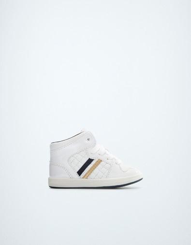 BASKET MONTANTE VERNIE - Chaussures - Bébé garçon (3-36 mois) - Enfants - ZARA France