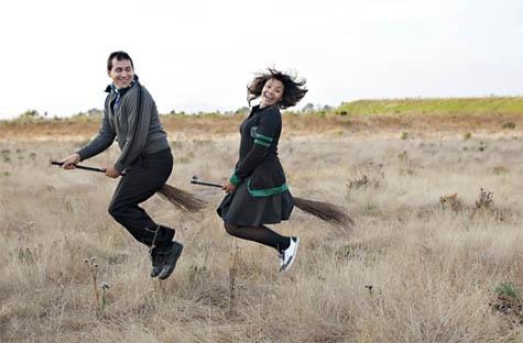 Harry Potter Theme Engagement photo