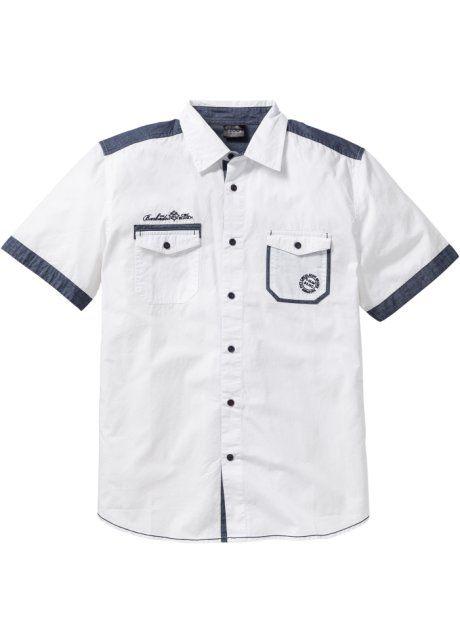 Рубашка Regular Fit с коротким рукавом, bpc bonprix collection