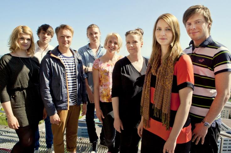 Kanavakonsultit 2012 ryhmäkuvassa