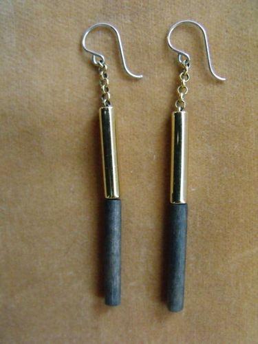 Aarikka Earrings Vintage Aarikka of Finland Earrings Green Poles | eBay