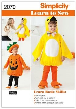 Amazon.com: Simplicity Sewing Pattern 2070: Learn To Sew Toddler's Costumes, A (1/2-1-2-3-4): Arts, Crafts & SewingCostumes Pattern, Sewing Toddlers, Halloween Costumes, Learning To Sewing, Toddler Costumes, Toddlers Costumes, Simplicity Sewing Pattern, Pattern 2070, Sewing Patterns