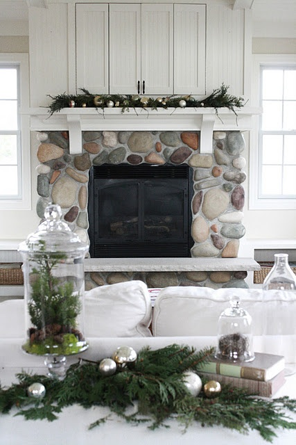 183 best fireplace mantels images on pinterest home - Rockabilly mantel ...