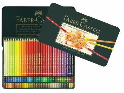 Faber Castell Polychromos Blik met 120 Kleurpotloden