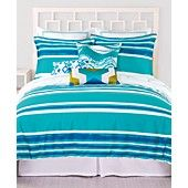 Love the colors. I think it would match the Bora Bora picture. Trina Turk Bedding, Horizon Stripe Comforter and Duvet Sets