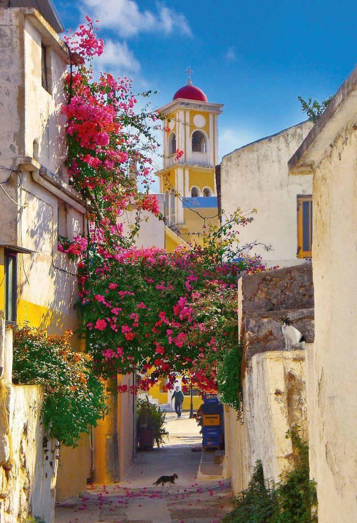 Kalyves Village, Crete, Greece