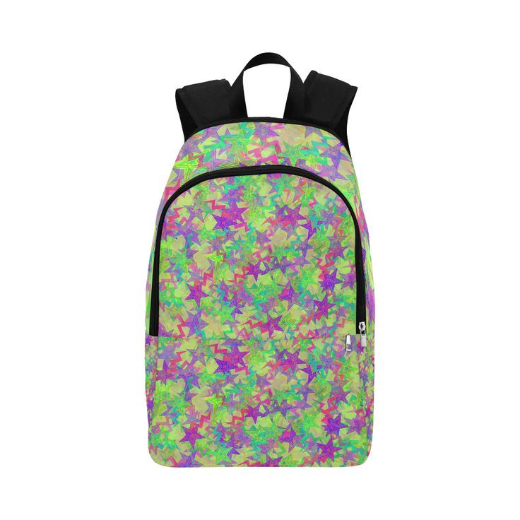 Shooting Stars Fabric Backpack for Adult (Model 1659)