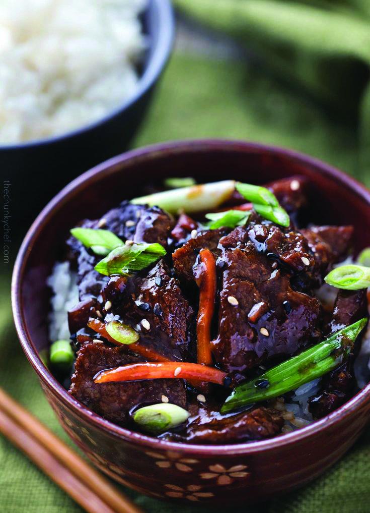 Easy Mongolian Beef Mongolian Beef Easy Mongolian Beef