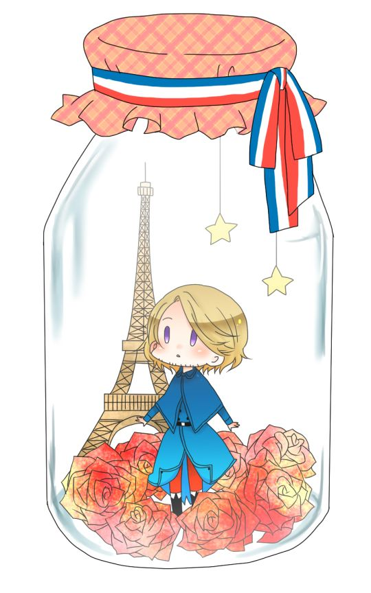 I want my own France in a jar! <3  He can give me love advice and compliments when I need them most. lol