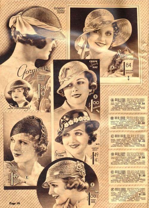 cgmfindings: Chicago Mail Order Catalog 1933   Art Deco   Bloglovin'