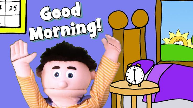A fun and energetic good morning song with actions to start your day or class…