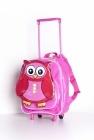 Lieve, mooie, handige kindertrolley van Kidid. Alle spullen voor een paar nachtjes weg kunnen in deze kindertrolley van Kidid.