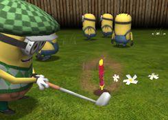 JuegosdeMinion.com - Juego: Minion Golf - Jugar Juegos Gratis Online Flash