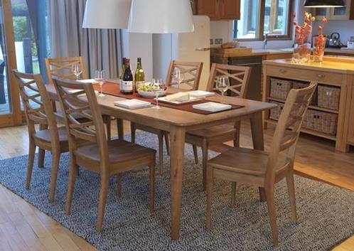 Brondby, dining table, 200 cm oak top,oak dining set, oak dining table, oak dining chair,